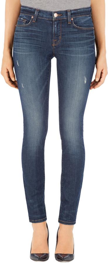 811 Mid-Rise Skinny Leg