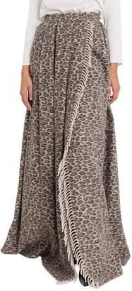 Max Mara Long Jacquard Skirt