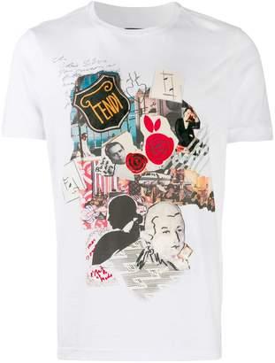1c36b7f8 Fendi Men's Tshirts - ShopStyle