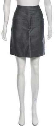 Marni Knee-Length Linen Skirt