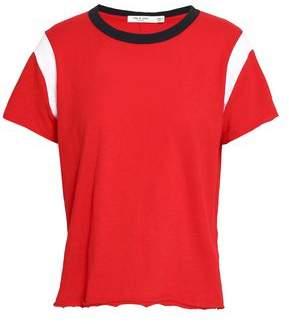 Rag & Bone Percy Color-block Pima Cotton-jersey T-shirt
