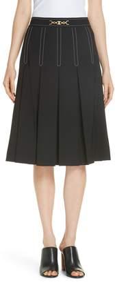 Tory Burch Cordelia Pleated Skirt