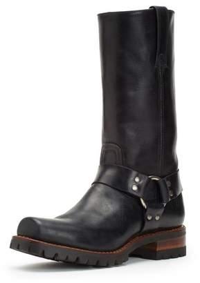 Frye Addison Lug Harness Buckle Boot