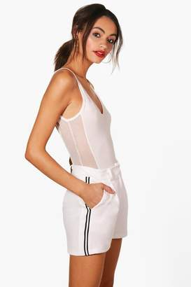 boohoo Side Stripe Shorts
