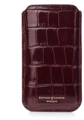 Aspinal of London iPhone 6 Plus Leather Sleeve