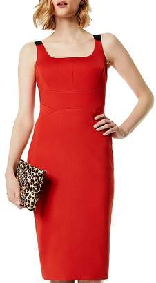 Karen Millen Contrast-Strap Sheath Dress
