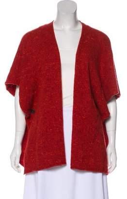 eskandar Wool Open-Front Poncho