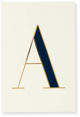Kate Spade It's Personal Initial Collection Notepad, A