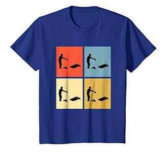 cornhole shirt Colorful Retro