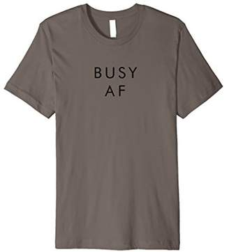 Abercrombie & Fitch Busy Shirt Sarcastic Funny Humor Shirt For Men