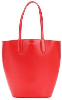 Alexander McQueen Small Basket leather shopper