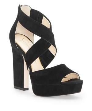 Jessica Simpson Tehya Suede Platform Sandals