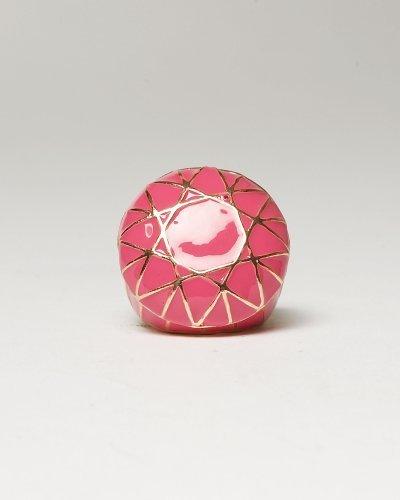 Mosaic Enamel Cocktail Ring