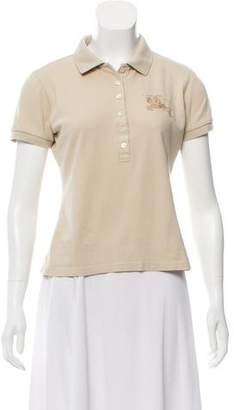 Burberry Collared Polo Top