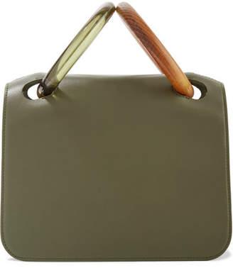 Roksanda Neneh Leather Tote - Green