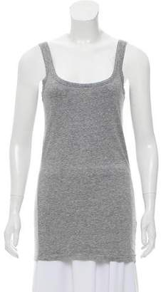Theory Sleeveless Crew Neck T-Shirt