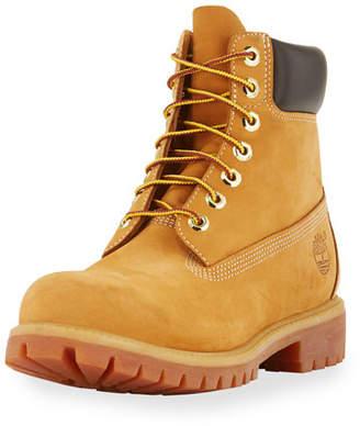 "Timberland 6"" Premium Waterproof Hiking Boot, Tan $190 thestylecure.com"