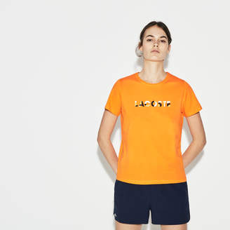 Lacoste Women's SPORT Logo Tennis T-Shirt