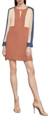 BCBGMAXAZRIA Cori Colourblocked A-Line Dress
