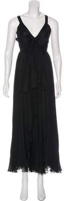 Valentino Sleeveless Evening Dress