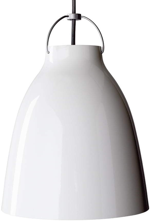 Caravaggio P1 Pendelleuchte glänzend, weiß