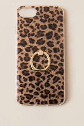 Leopard Gold Ring iPhone 6/7/8 Case