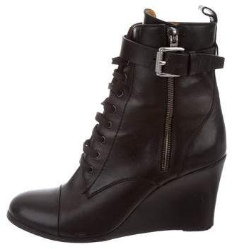 Barbara Bui Wedge Ankle Boots