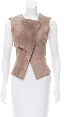 Jeremy Laing Textured Perforated Vest