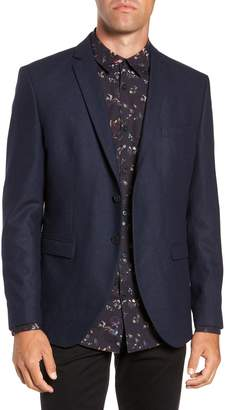 Selected Myloiver Slim Fit Wool Blend Blazer