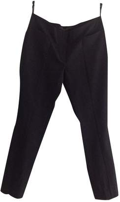 L'Wren Scott Black Wool Trousers for Women