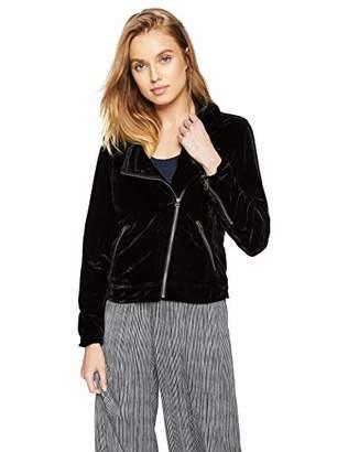 Lucky Brand Women's Michelle Velvet Moto Jacket