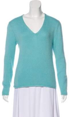 Iris von Arnim Cashmere Long Sleeve Sweater