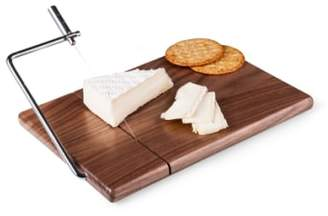 Picnic Time 'Meridian' Black Walnut Cutting Board with Slicer