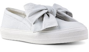 Women's Nine West Onosha Bow Slip-On Sneaker $78.95 thestylecure.com