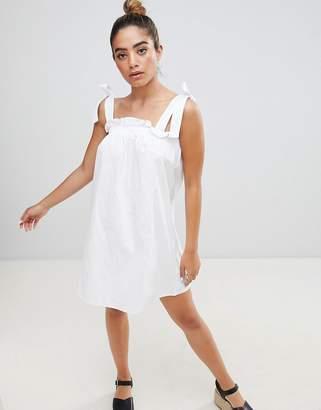 Fashion Union Sun Dress With Tie Shoulders
