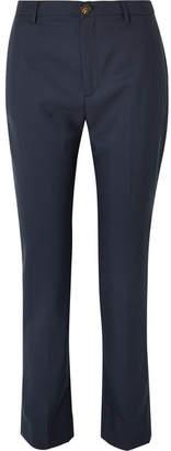 Vivienne Westwood (ヴィヴィアン ウエストウッド) - Vivienne Westwood - Serge Wool Straight-leg Pants - Navy
