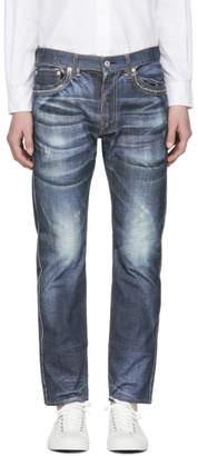 Junya Watanabe Indigo Levis Edition Mock Jeans
