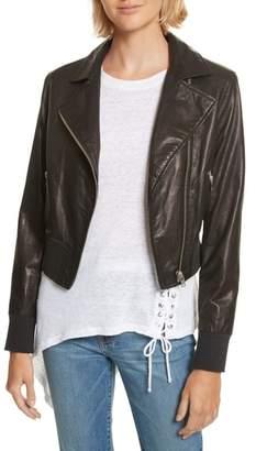 IRO Kalore Leather Moto Jacket
