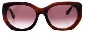 Balenciaga Gradient Logo Sunglasses