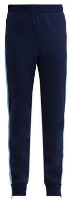 Prada Jersey Track Pants - Womens - Blue