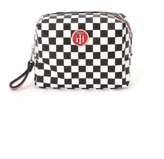 Tommy Hilfiger (トミー ヒルフィガー) - TOMMY HILFIGER (W)メイクアップバッグ トミーヒルフィガー バッグ