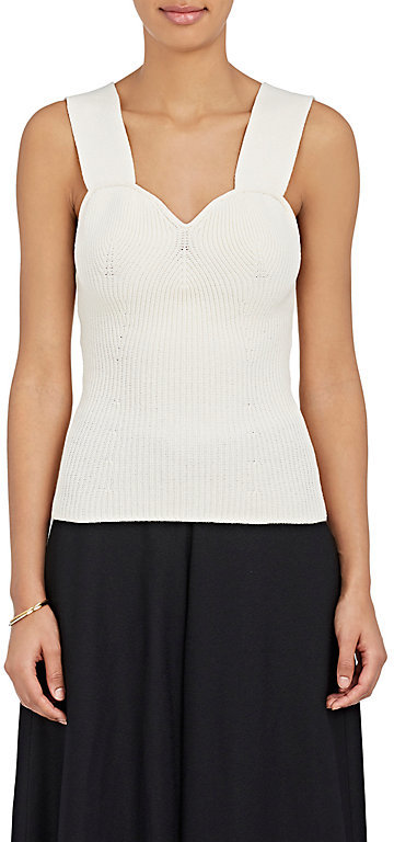 The Row Women's Ranna Cotton-Blend Bustier Top