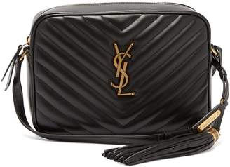Saint Laurent Lou quilted-leather cross-body bag