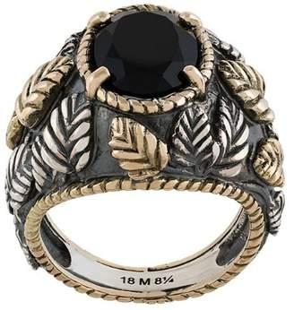 Ugo Cacciatori onyx set ring