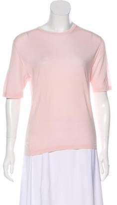 Loro Piana Wool Short Sleeve Sweater