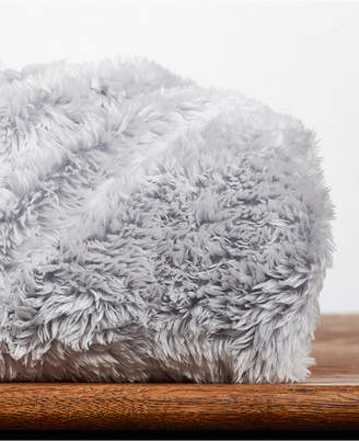 """Berkshire Frosted Faux-Fur 50"""" x 60"""" Throw Blanket"""