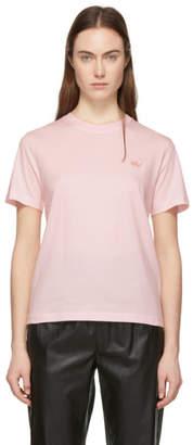 McQ Pink Tonal Swallow T-Shirt