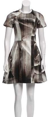 Alexis Short Sleeve Printed Dress