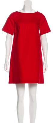 Paule Ka Short Sleeve Shift Dress