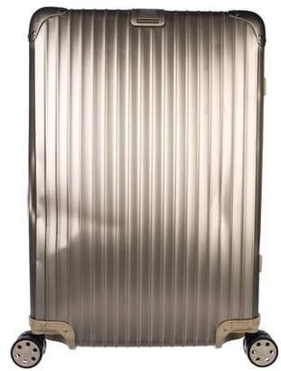 Rimowa Topas Titanium Multiwheel Suitcase
